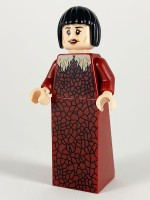 Madame Maxime, Dark Red Dress