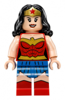 Wonder Woman, Gold Belt, Blue Skirt