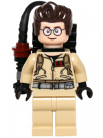 Dr. Egon Spengler - with Proton Pack (idea003)
