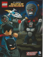 Super Heroes Comic Book, DC Comics, Gorilla Grodd & Darkseid (Justice League Logo)