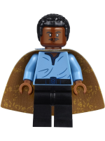 Lando Calrissian, Cloud City Outfit (Coiled Texture Hair)