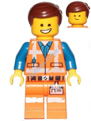 Emmet - Smile / Cheerful, Worn Uniform