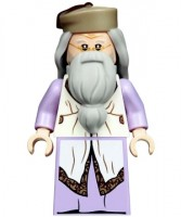 Albus Dumbledore, Lavender Robe, Dark Tan Hat