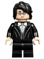 Harry Potter, Black Suit, White Bow Tie