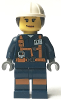 Miner - Female Explosives Engineer with Dual Sided Head