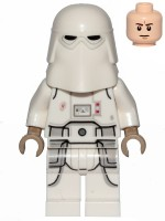 Snowtrooper, Printed Legs, Dark Tan Hands, Frown (75288)