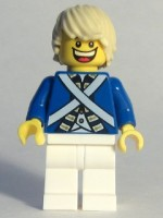 Bluecoat Soldier 7 - Tousled Hair (Head 4549620)