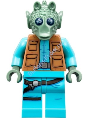 Greedo (with Belt on Torso)
