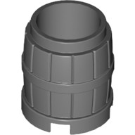 Dark Bluish Gray Container, Barrel 2 x 2 x 2  4218730