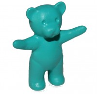 Light Turquoise Teddy Bear - Arms Up