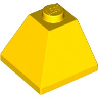 Yellow Slope 45 2 x 2 Double Convex  304524 or 4271076