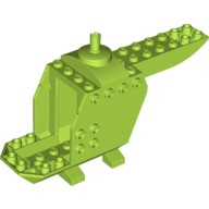 Lime Helicopter Body  6134206