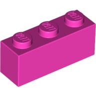 Dark Pink Brick 1 x 3  4253803 or 4618655