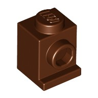 Reddish Brown Brick, Modified 1 x 1 with Headlight  4225469