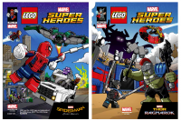 Super Heroes Comic Book, Marvel, Spider-Man Homecoming and Thor Ragnorak, June 2017 (6228219/6228222)