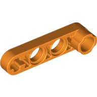 Orange Technic, Liftarm 1 x 4 Thin with Stud Connector  4141728 or 4552415 or 6170368