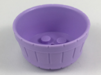 Lavender Container, Barrel Half Large with Axle Hole  6211376
