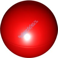 Red Ball, Hard Plastic 52mm D.  4156530