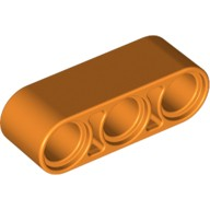 Orange Technic, Liftarm 1 x 3 Thick  4154621 or 4655127 or 6102618