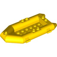 Yellow Boat, Rubber Raft, Small  4106548 or 4501128 or 4501130 or 6099480