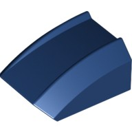 Dark Blue Slope, Curved 2 x 2 Lip, No Studs  4226115 or 6110004
