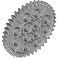 Light Bluish Gray Technic, Gear 40 Tooth  4285634 or 6195314