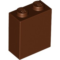 Reddish Brown Brick 1 x 2 x 2 with Inside Stud Holder  4609329 or 6172808