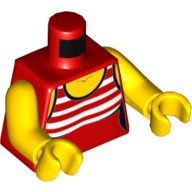 LEGO Female Minifigure Hair /& Light Yellow Beanie Hat 2 Braids over Shoulder
