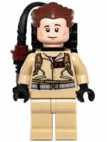 Dr. Peter Venkman - with Proton Pack (idea004)