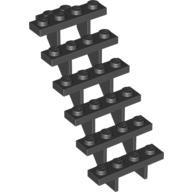 Black Stairs 7 x 4 x 6 Straight Open  4105288 or 4279270