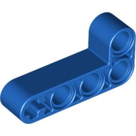 Blue Technic, Liftarm 2 x 4 L-Shape Thick  4124278 or 4168114