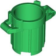 Green Container, Trash Can with 4 Cover Holders  4626650 or 6171069