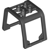 Black Windscreen 6 x 4 x 3 1/3 Roll Cage  4539385 or 6240526