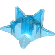Trans-Dark Blue Hero Factory Weapon - Spiked Ball, Half  6027626