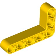 Yellow Technic, Liftarm 3 x 5 L-Shape Thick  4144022