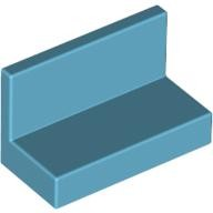 Medium Azure Panel 1 x 2 x 1 with Rounded Corners  4618647 or 6146228
