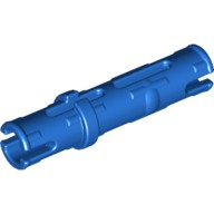 Blue Technic, Pin 3L with Friction Ridges Lengthwise  4514553