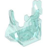 Trans-Light Blue Rock Panel 2 x 4 x 3 with Fractures (Chima Ice Cage)  6065032