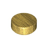 Pearl Gold Tile, Round 1 x 1  4649422