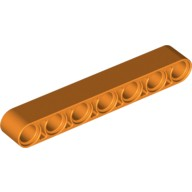 Orange Technic, Liftarm 1 x 7 Thick  6102621