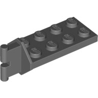 Dark Bluish Gray Hinge Plate 2 x 4 with Articulated Joint - Male  4237553 or 4264952