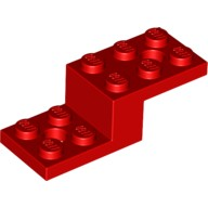 Red Bracket 5 x 2 x 1 1/3 with 2 Holes  6029952