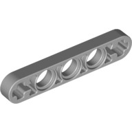 Light Bluish Gray Technic, Liftarm 1 x 5 Thin with Axle Holes on Ends  6029206