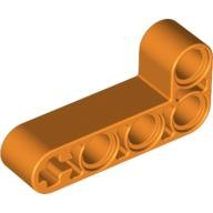 Orange Technic, Liftarm 2 x 4 L-Shape Thick  4140351 or 4508664