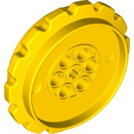 Yellow Technic Tread Sprocket Wheel Extra Large  6253463