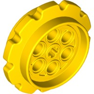 Yellow Technic Tread Sprocket Wheel Large  4494518 or 6253464