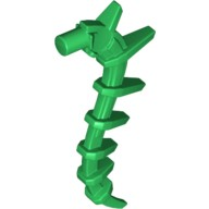 Green Appendage Spiky / Bionicle Spine / Seaweed / Plant Vine  6154865