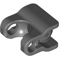 Dark Bluish Gray Hero Factory Arm / Leg Extender with Ball Joint and Ball Socket  4666471 or 6106472