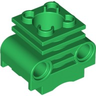 Green Technic Engine Cylinder without Side Slots  6065495