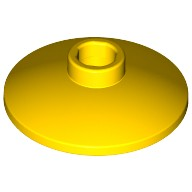 Yellow Dish 2 x 2 Inverted (Radar)  4169960
